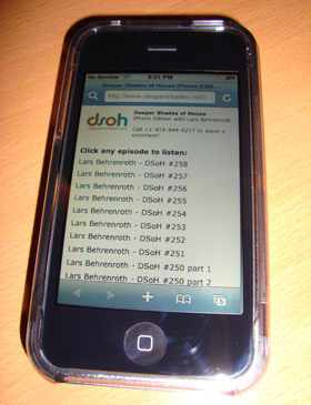 DSOH on iPhones