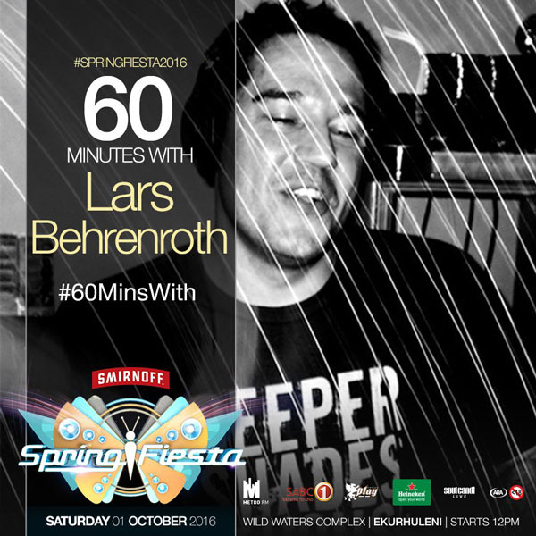 Join 60 Minutes With Lars Behrenroth on Twitter
