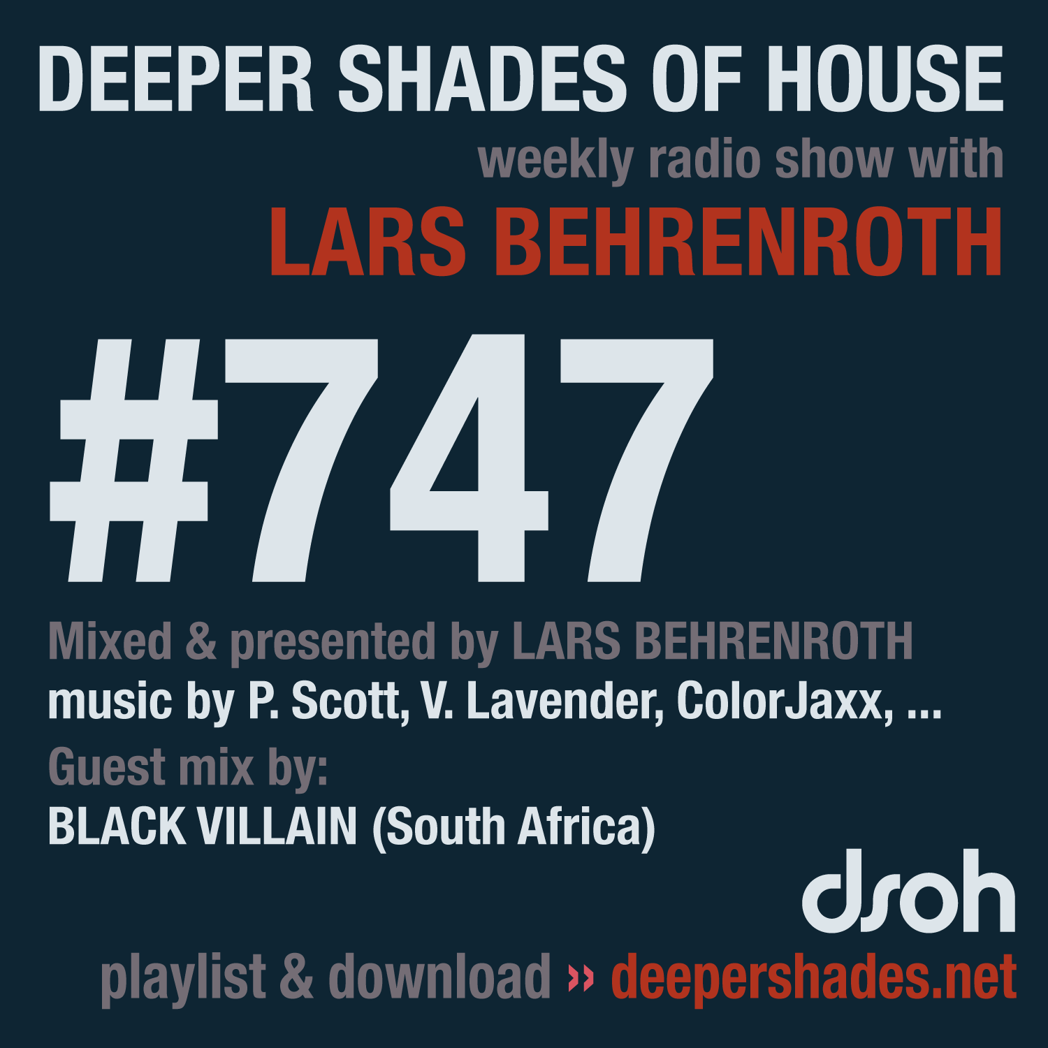 Deeper Shades Of House 747