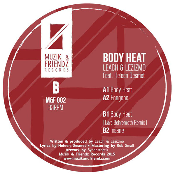 Leach and Lezizmo feat Heleen Desmet - Body Heat (Lars Behrenroth Remix)