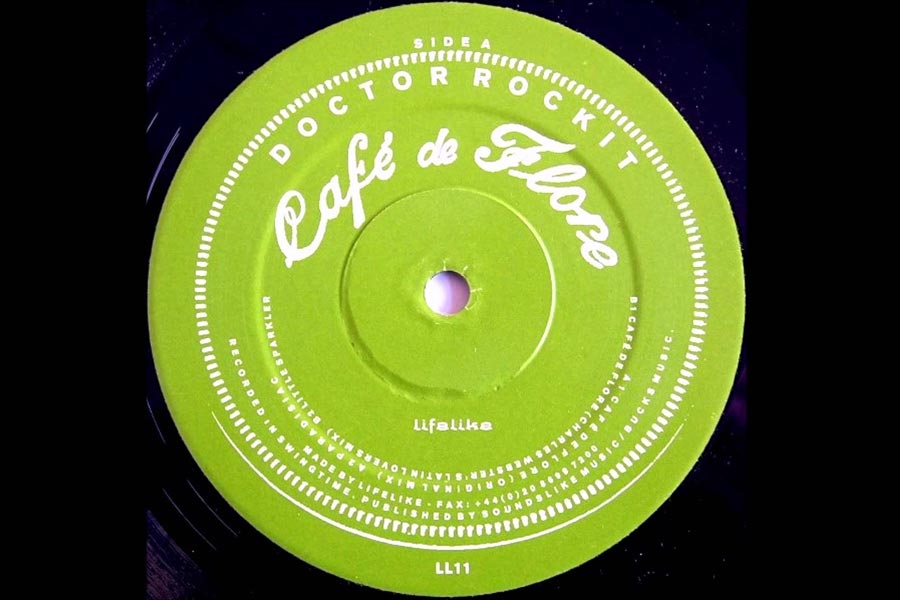 EYES ON CHARLES WEBSTER - Doctor Rockit - Cafe De Flore (CHARLES WEBSTER Remix)