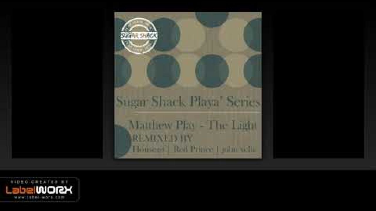 Matthew Play - The Light (john vella Stripped Down Remix)